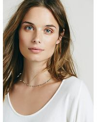 Free People - Metallic Marida Womens Twiggy Choker - Lyst