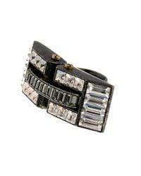 Lanvin - Metallic Dahomar Ring - Lyst