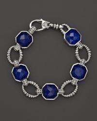 Lagos - Blue Lapis Doublet Bracelet - Lyst