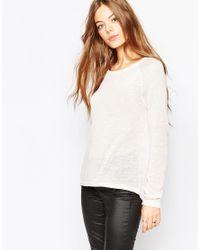 Vila - Pink Long Sleeve T-shirt - Lyst