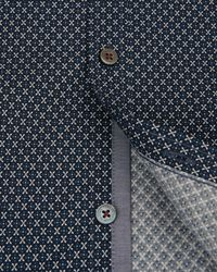 Ted Baker | Blue Wowwee Target Print Shirt for Men | Lyst