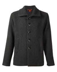 Barena - Gray Buttoned Cardigan for Men - Lyst