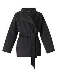 Isabel Marant Black Heaton Blanket Coat
