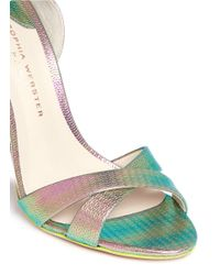 J.Crew Multicolor Sophia Webstertm For Nicole Heels