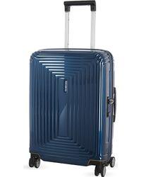 Samsonite | Blue Neopulse Four-wheel Spinner Suitcase 55cm for Men | Lyst