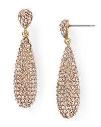Ralph Lauren | Metallic Lauren Teardrop Earrings, Signature Collection | Lyst