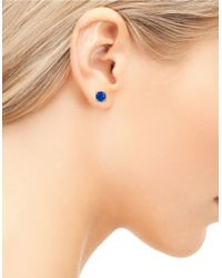 Sam Edelman - Blue Icons Reece Stone Stud Earrings - Lyst
