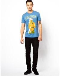 Rock Revival - Blue Girl Tshirt for Men - Lyst