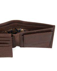 Ted Baker - Brown Metal Corner Wallet for Men - Lyst