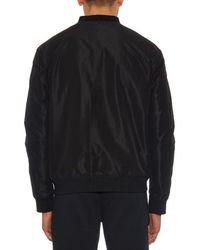 Alexander Wang - Yellow Reversible Graphic-Print Bomber Jacket for Men - Lyst
