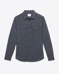 Billy Reid - Blue Miller Shirt for Men - Lyst