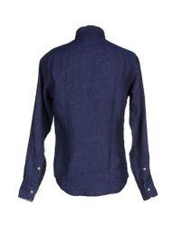 Smythson - Blue Shirt for Men - Lyst