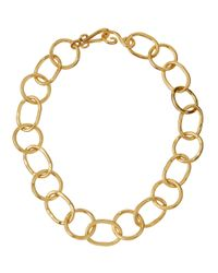 Stephanie Kantis | Metallic Oval & Round Link Necklace | Lyst