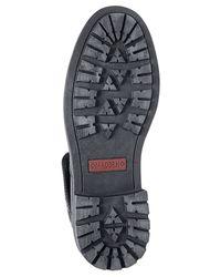 Steve Madden - Black Madden Neptun Plaid Collar Boots for Men - Lyst