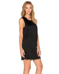 Generation Love - Black Nessa Fringe Dress - Lyst