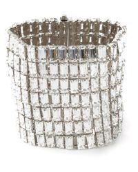Giuseppe Zanotti - Metallic Embellished Cuff - Lyst