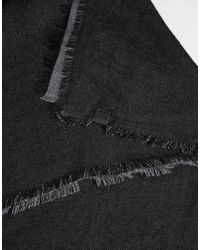Esprit | Black Doublefaced Scarf for Men | Lyst