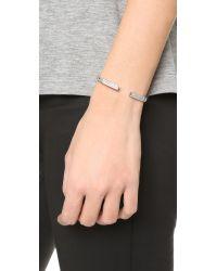 Vita Fede Metallic Divisio Crystal Bracelet