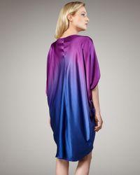 Nicole Miller Artelier | Blue Ombre Shift Dress 8 | Lyst