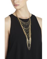 BCBGMAXAZRIA | Metallic Boho Fringe Necklace | Lyst
