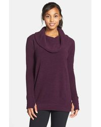New Balance | Purple Cozy Tunic Pullover | Lyst