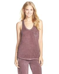Daniel Buchler | Purple Washed Out Racerback Tank | Lyst