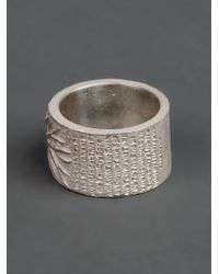 Tobias Wistisen | Metallic Branch Ring for Men | Lyst