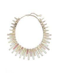 Kendra Scott - Metallic 'kaplan' Collar Necklace - Lyst
