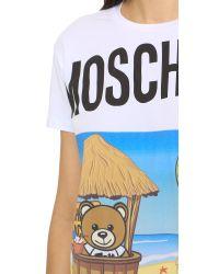 Moschino White Bear T-shirt
