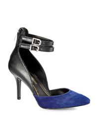 Enzo Angiolini | Blue Celton Heels | Lyst