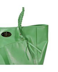 Mulberry - Green Handbag Dorset Shopping Leather - Lyst