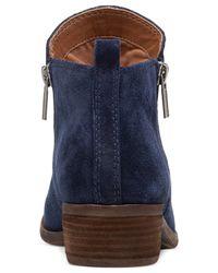 Lucky Brand Blue Women's Basel Booties