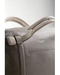Rag & Bone Gray Aston Leather Satchel