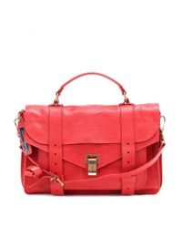 Proenza Schouler | Red Ps1 Medium Leather Tote | Lyst