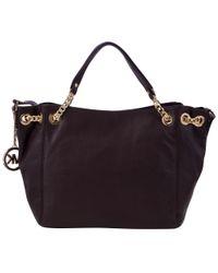 MICHAEL Michael Kors Black Jet Set Chain Medium Shoulder Handbag