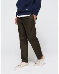 Obey | Green Latenight Sateen Pant for Men | Lyst