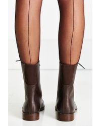 Urban Outfitters Brown Louis Mid Lace-up Boot