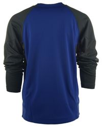Nike Blue Men'S Los Angeles Dodgers Therma-Fit 1.4 Crew Sweatshirt for men