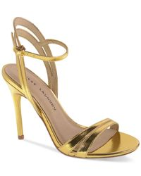 Chinese Laundry | Metallic Lilliana Evening Sandals | Lyst
