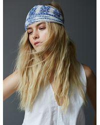 Free People - Blue Myna Headband - Lyst