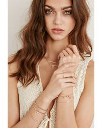 Forever 21 - Pink Shashi Etched Cutout Ring - Lyst