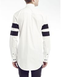 SELECTED - White One Element Long Sleeve Shirt for Men - Lyst