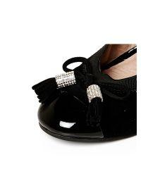 Moda In Pelle - Black Fenro Flat Smart Shoes - Lyst