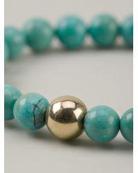 Ali Grace Jewelry - Green Beaded Bracelet - Lyst
