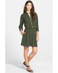Amour Vert | Green 'tippi' Blouson Dress | Lyst