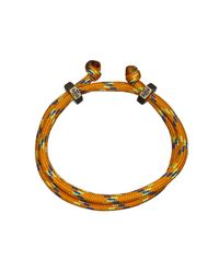 Guess | Orange Cord Bracelet for Men | Lyst