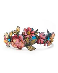 Masterpeace Floral Embroidered Headband