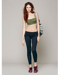 Intimately Green Contrast Band Sports Bra