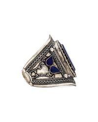 Natalie B. Jewelry | Blue Ava 2 Cuff | Lyst