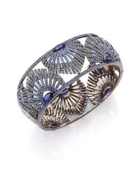 Adriana Orsini | Metallic Phoenix Crystal Bangle Bracelet | Lyst